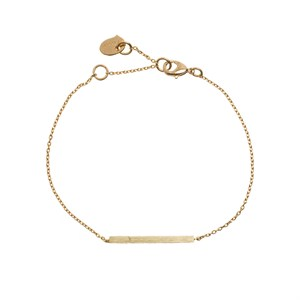 Bar bracelet 02-Gold plated