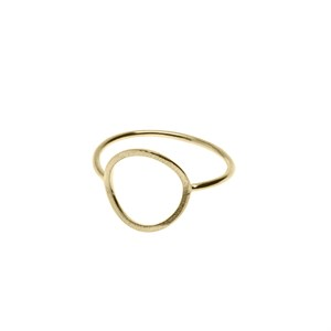 Big circle ring Gold