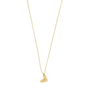 New heart necklace 02-Gold plated