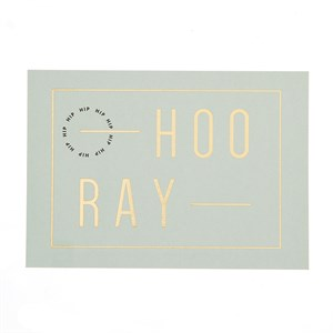 Hoo-Ray  postcard