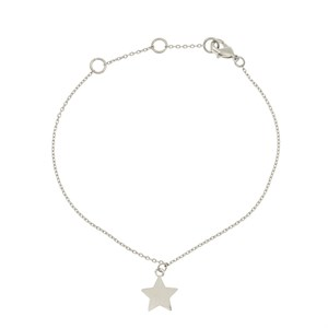 New star bracelet 01-Silver Finishing