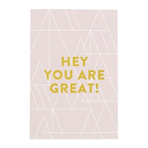 Hey you are great notebook