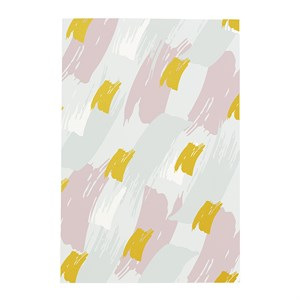 Paint splatters notebook