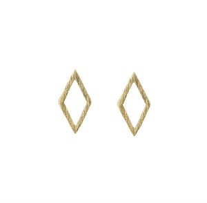 2D Diamond Earrings