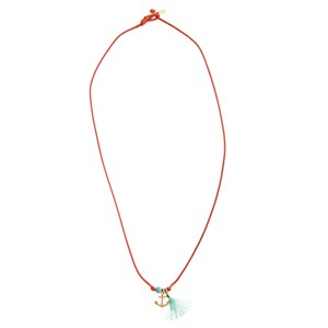 Anchor & turquoise balls NL,go 186-Red