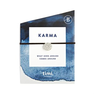 Karma Stretch Br., Silver 246-Black