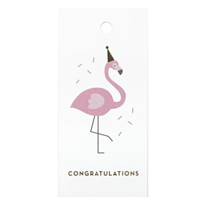 Gift Tag-Party Lika a Flamingo