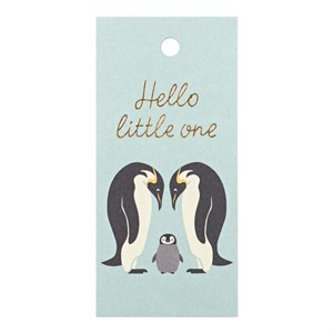 Gift Tag-Hello Little One