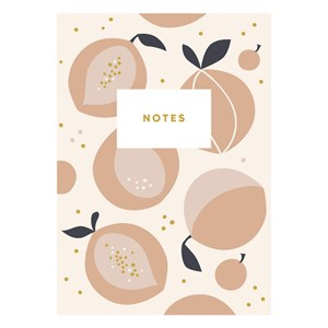 Peaches Notebook