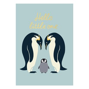 Small Greeting Card-Hello Little One