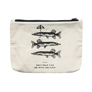 Canvass Pouch-Fishes