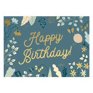 Small Greeting Card-Happy Birthday AW 2019