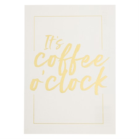 Vykort It's Coffee O'Clock