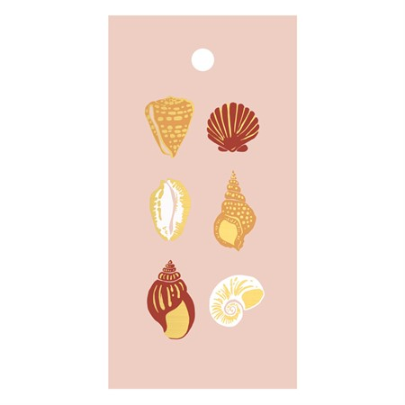 Sea Shells Gift Tag