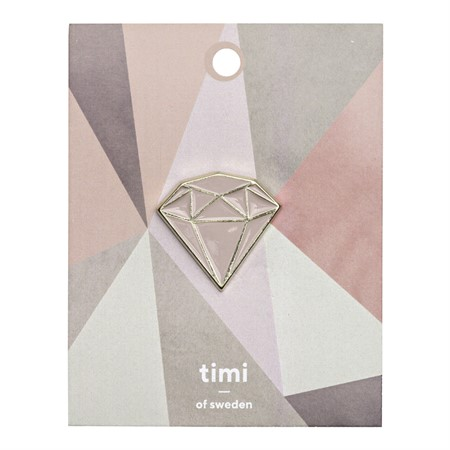 Enamel Pin Diamond