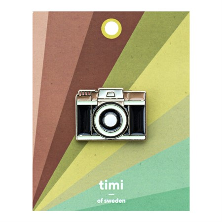 Enamel Pin Camera