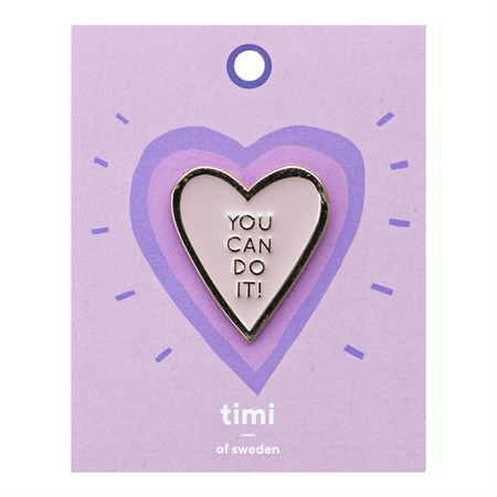 Enamel Pin You can Do It