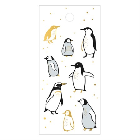Penguins Gift Tag