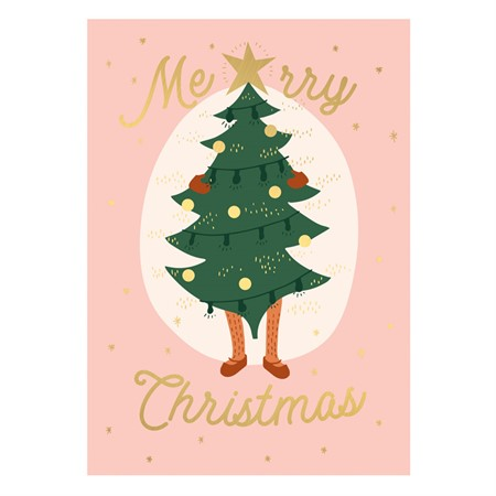 Christmas Tree AW2019 Postcard