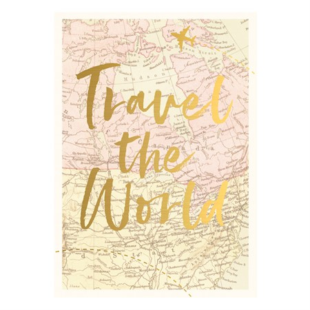 Travel the World Postcard