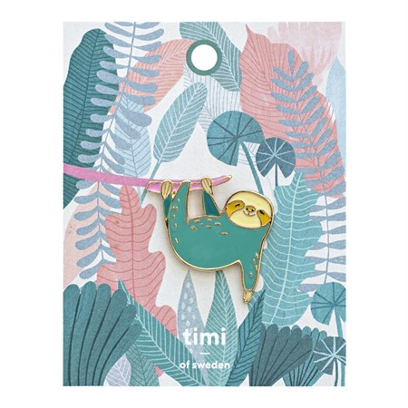 Enamel Pin Sloth