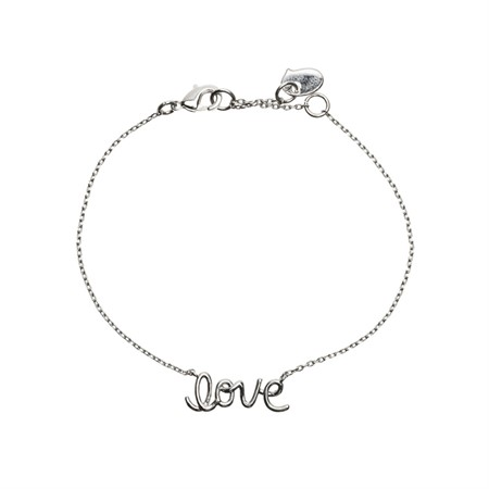 "Armband med ""Love"" text"