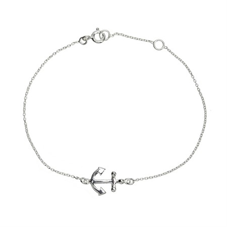 Bracelet Anchor Sterling Silver