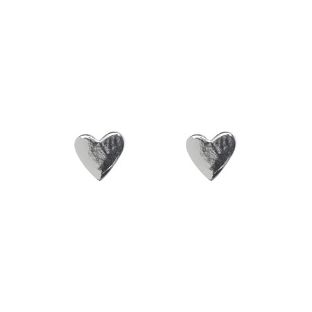 Earrings Hearts Sterling Silver