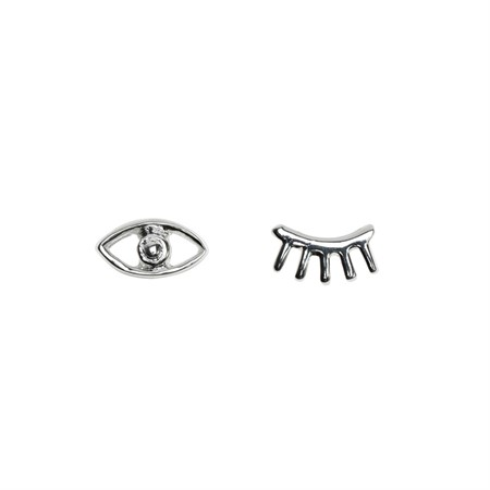 Earrings Eyes Sterling Silver