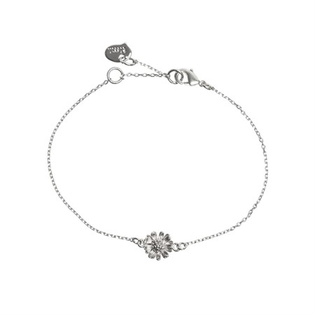 Armband 3D Blomma Silver