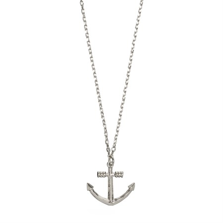 Necklace Sailor's Anchor Silver