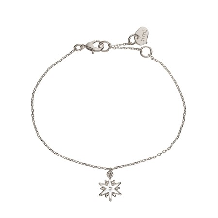 Wishing star Armband Silver